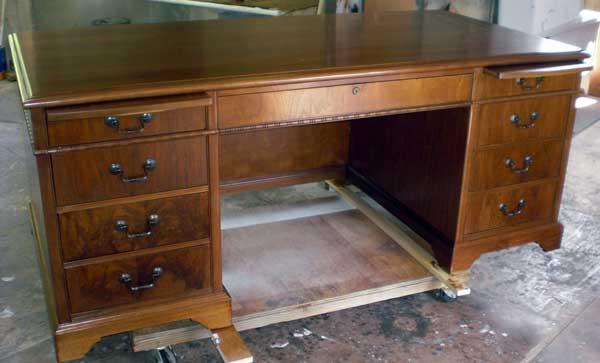 Реставрация письменного стола своими руками фото 72
